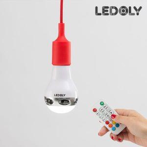 Ledoly-C2000-Monivärinen-Bluetooth-LED-Lamppu-Kaiuttimella-1