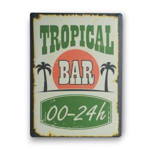 Tropical-Bar-Metallinen-Kyltti-30-x-40-cm-1