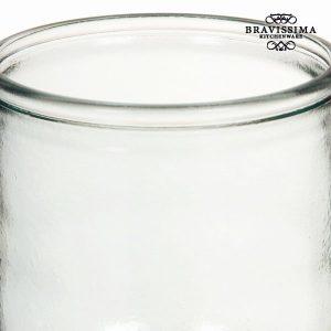 Maljakko-kierrätettyä-lasia-Sileä-Pitkä-Pure-Crystal-Kitchen-Kokoelma-1