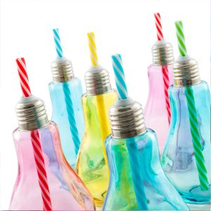Värilliset-Hehkulamppu-Juomalasit-Pillillä-250-ml-6-kpl-pakkaus-1