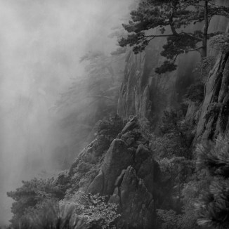 Yellow Mountain in Black and White - 05