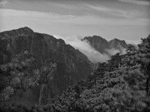 Yellow Mountain in Black and White - 23