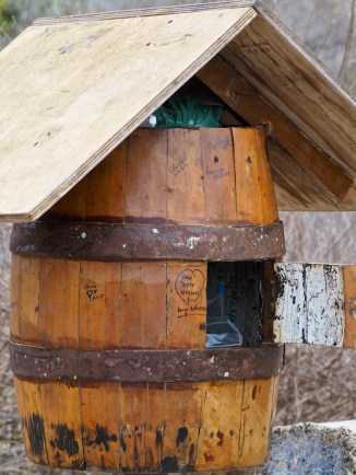 The Floreana Post Box