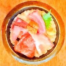 Five-colour Sashimi