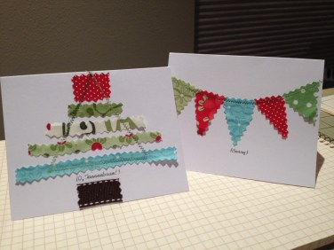 Scrappy Holiday Cards