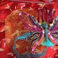 Veiled Butterfly Fascinator - DIY
