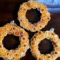 Citrus Wreath – Homemade Holiday DIY