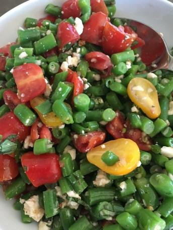 green bean salad tomato garlic