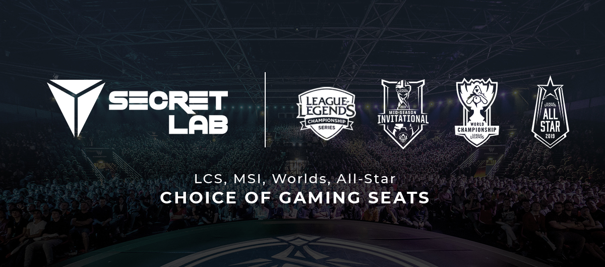 lcs gaming chair roman alternative secretlab partners with riot games for and premier events