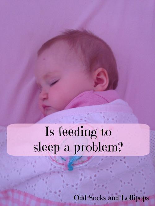 Is feeding to sleep a problem
