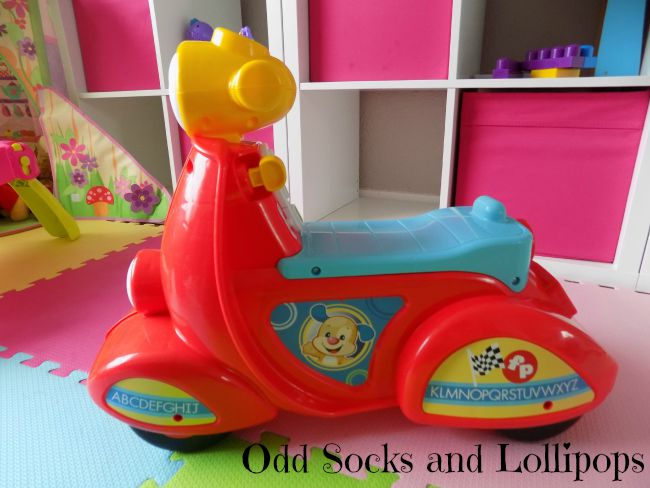 Review - Fisher Price Smart Stages Scooter 4