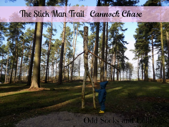 The Stick Man Trail - Cannock Chase - sharing our wonderful time exploring Cannock Chase and discovering all the fun of the Stick Man Trail