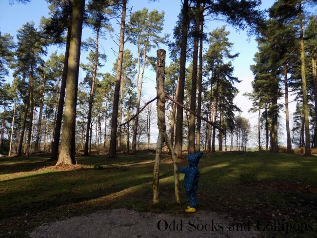 The Stick Man Trail - the stick man