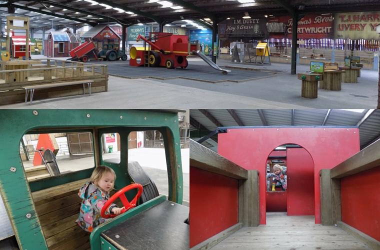 Folly Farm - the Jolly Barn Play Area