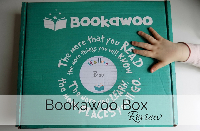 Bookawoo Box Review - I am not sure Boo could have been any more excited about her Bookawoo box - what do you think