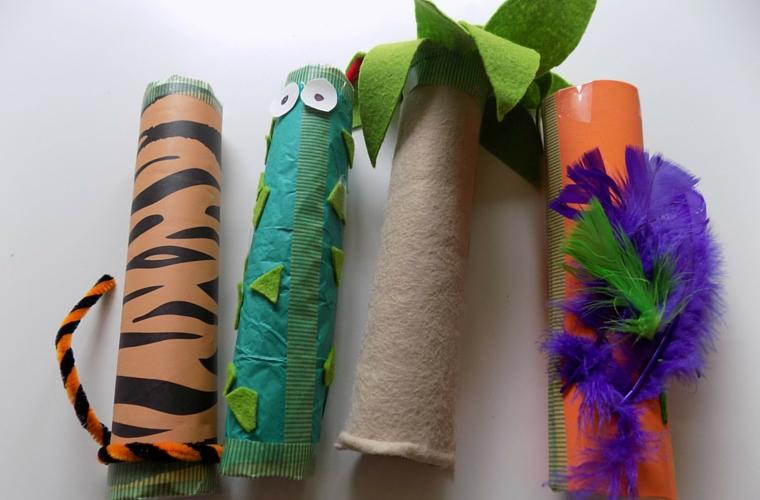 Jungle Themed Rainsticks - Rainsticks 4