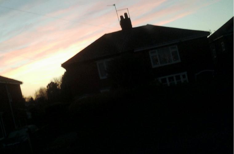 Boo's Photos January Sunset
