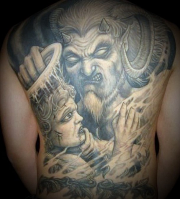 Devil Tattoos For The Devils