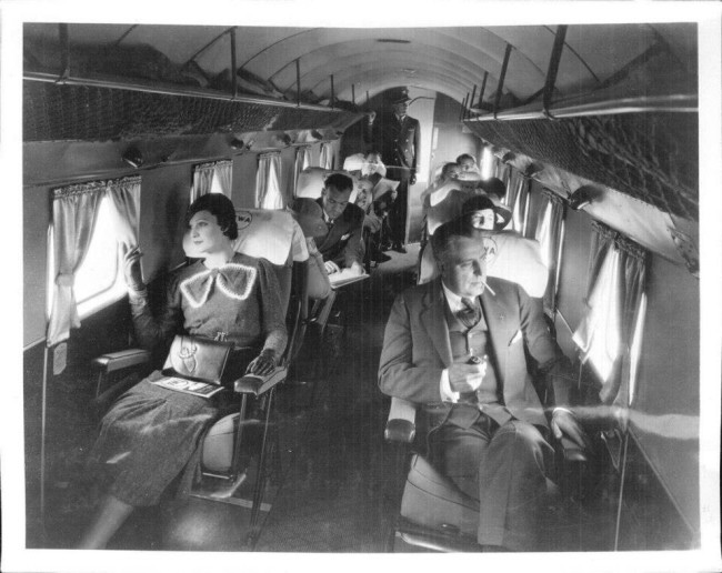 The History of the First Class in Airplanes  Odd Stuff
