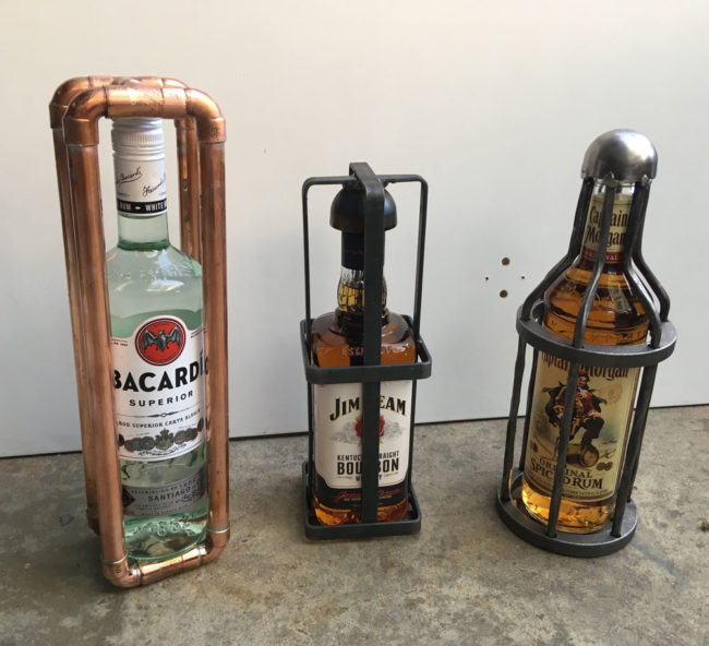 Secret Santa gifts for the alcoholic plumber, iron worker, and pirate