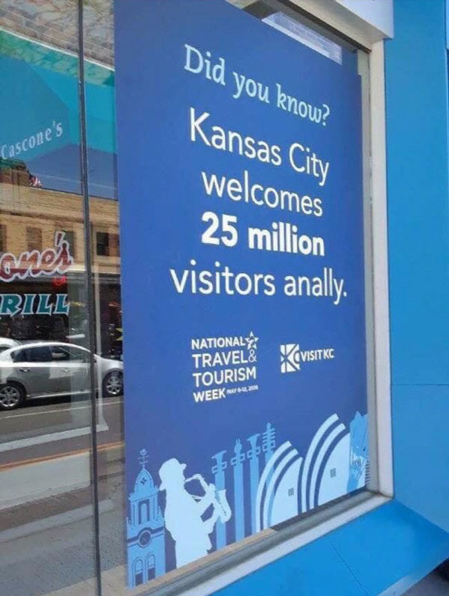 Kansas City really lets tourists have a good time