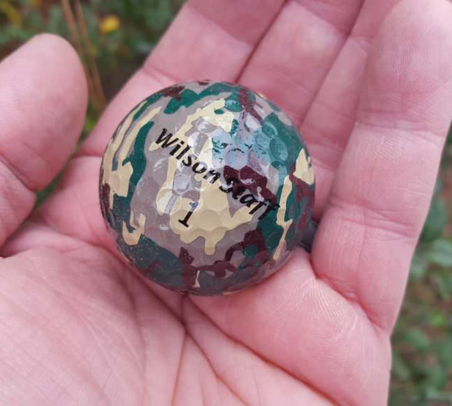 World's worst golf ball