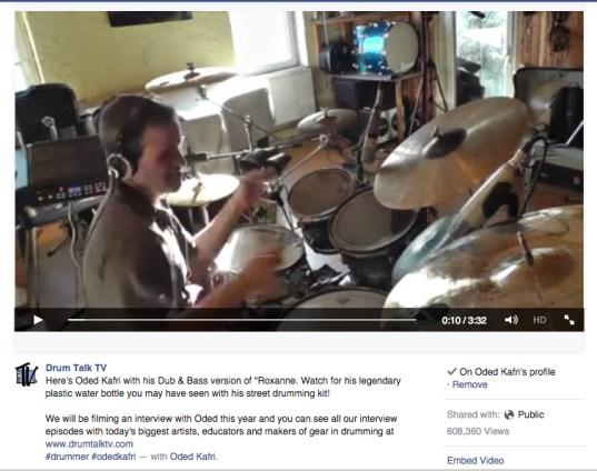 Drum Talk TV Roxanne
