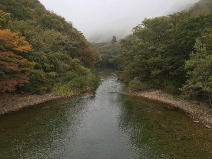 奥入瀬渓流 子ノ口橋
