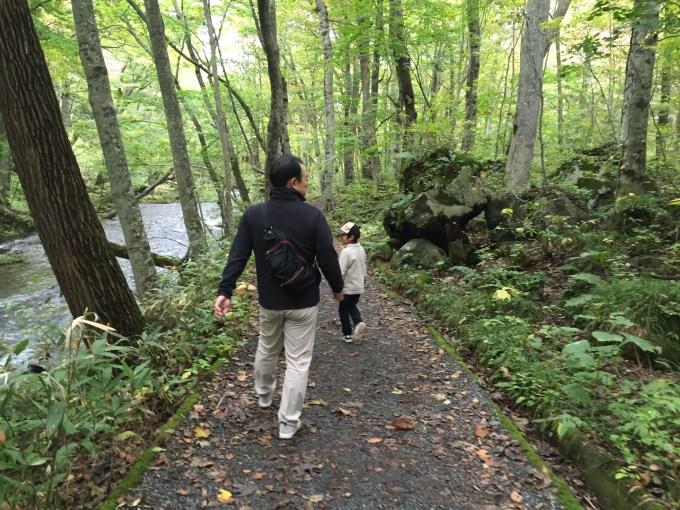奥入瀬渓流 紅葉 散策