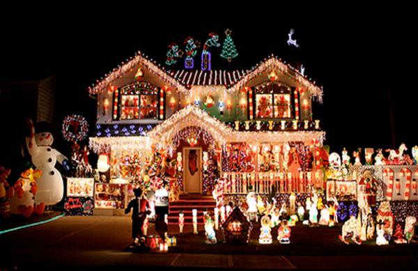 Village Christmas Home Decoration 2015  Village Of Odell