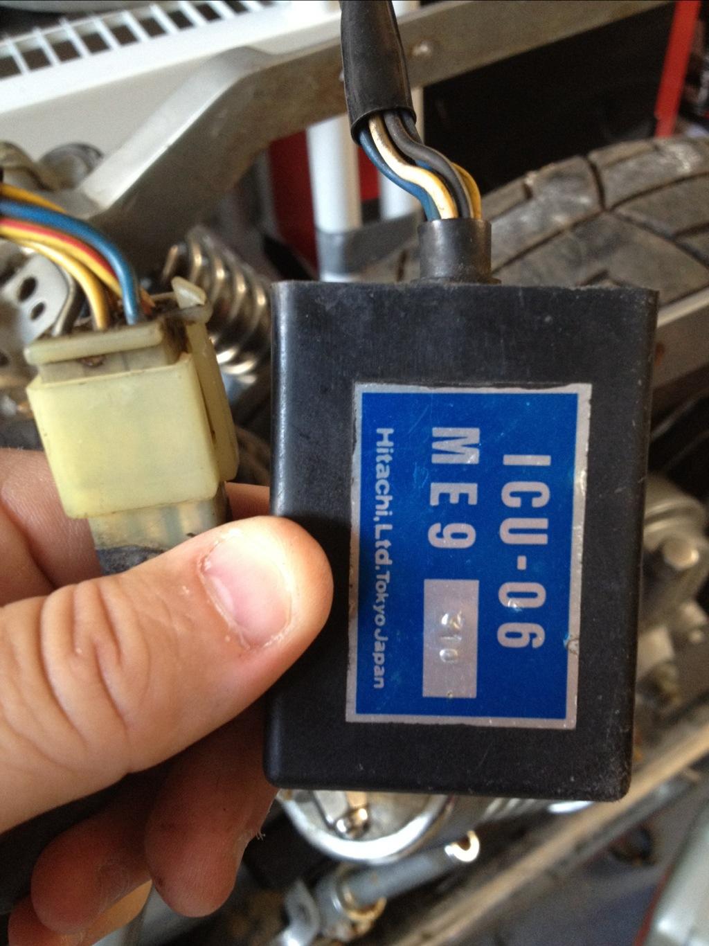 [SCHEMATICS_4HG]  1984 Honda Shadow VT700C Brain Transplant - Oden Motor Shop | Vt700 Wiring Diagram |  | Oden Motor Shop