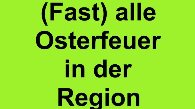 Osterfeuer Frankfurt (Oder)