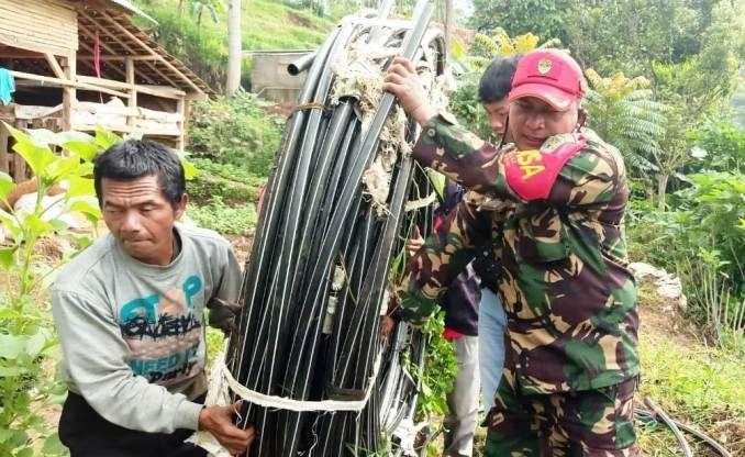 Tasban Doloan Satgas Citarum Bandung Utara
