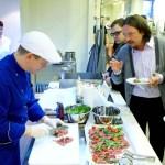 Компания ПРИС — открытие Шоу-кухни в Одессе