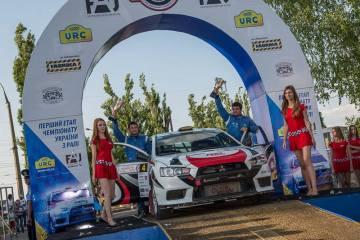 Чемпионат Украины по ралли «Чумацкий шлях»: две победы в копилке одесситов