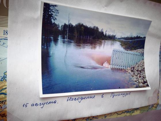 Наводнение в Приамурье. Мопедопробег Теодора Резвого и Евгения Стоянова