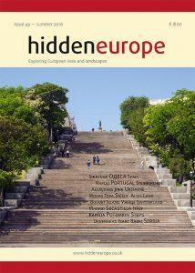 Обложка журнала «Hidden Europe», посвященнного Одессе