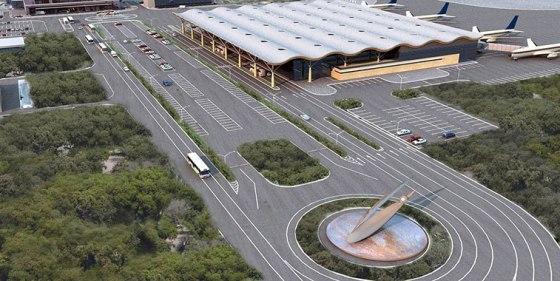Odessa International Airport new terminal
