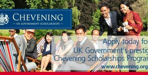 The Chevening UK Government Scholarships Programme 2016–2017 for Ukraine