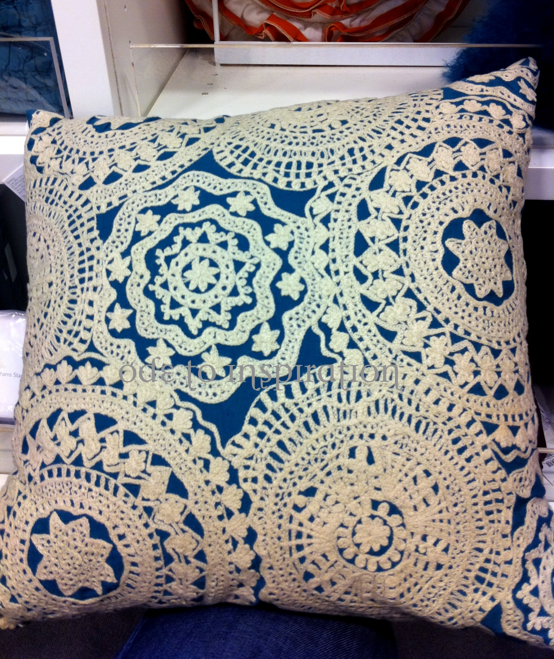 Bloomingdales Pillow Copycat  Ode to Inspiration