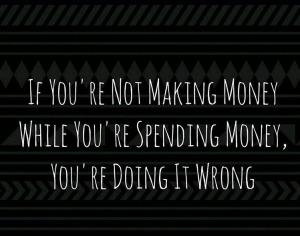 not making money