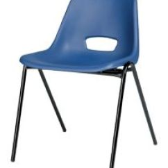 Pp Chair Company Wicker Adirondack Stackable Polypropylene Canteen Blue Stacking