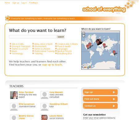 School of Everything screenshot