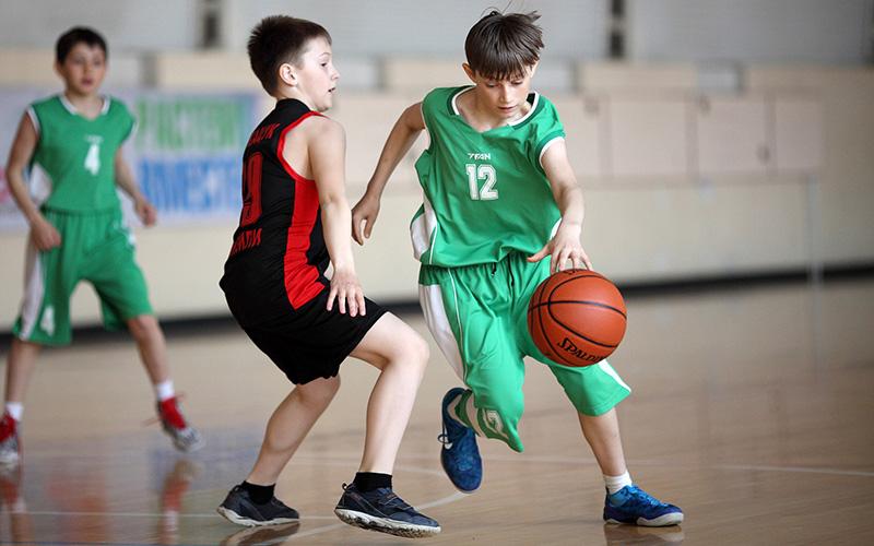 пошив баскетбольной формы для детей