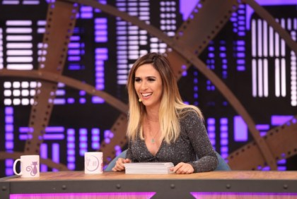Tatá Werneck no 'Lady Night', do Multishow