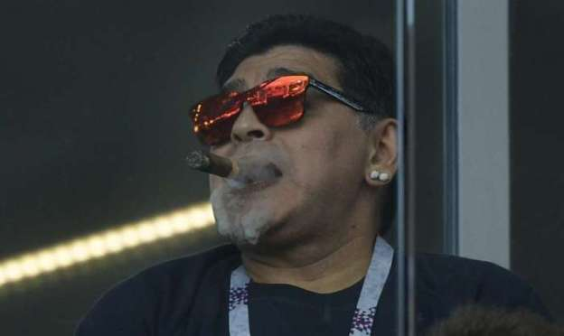 Maradona criticou ex-jogador do Flamengo