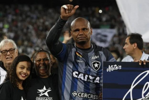 Jefferson é ídolo da torcida do Botafogo