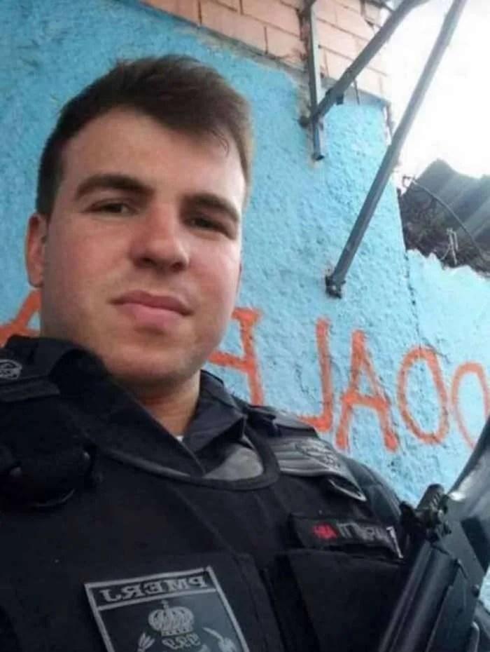 Resultado de imagem para Policial Daniel Henrique Mariotti