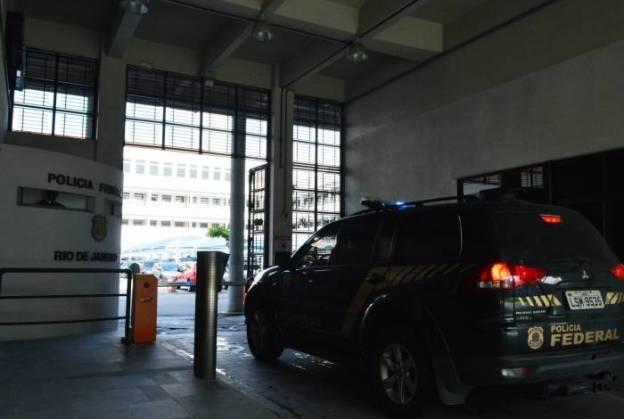 Investigados agiam dentro da Superintendência da Polícia Federal do Rio