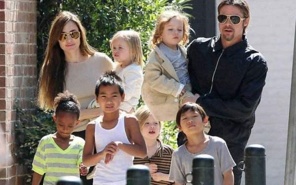 Brad Pitt e Angelina Jolie continuam brigando pela guarda dos filhos na  Justiça | Diversão | O DIA